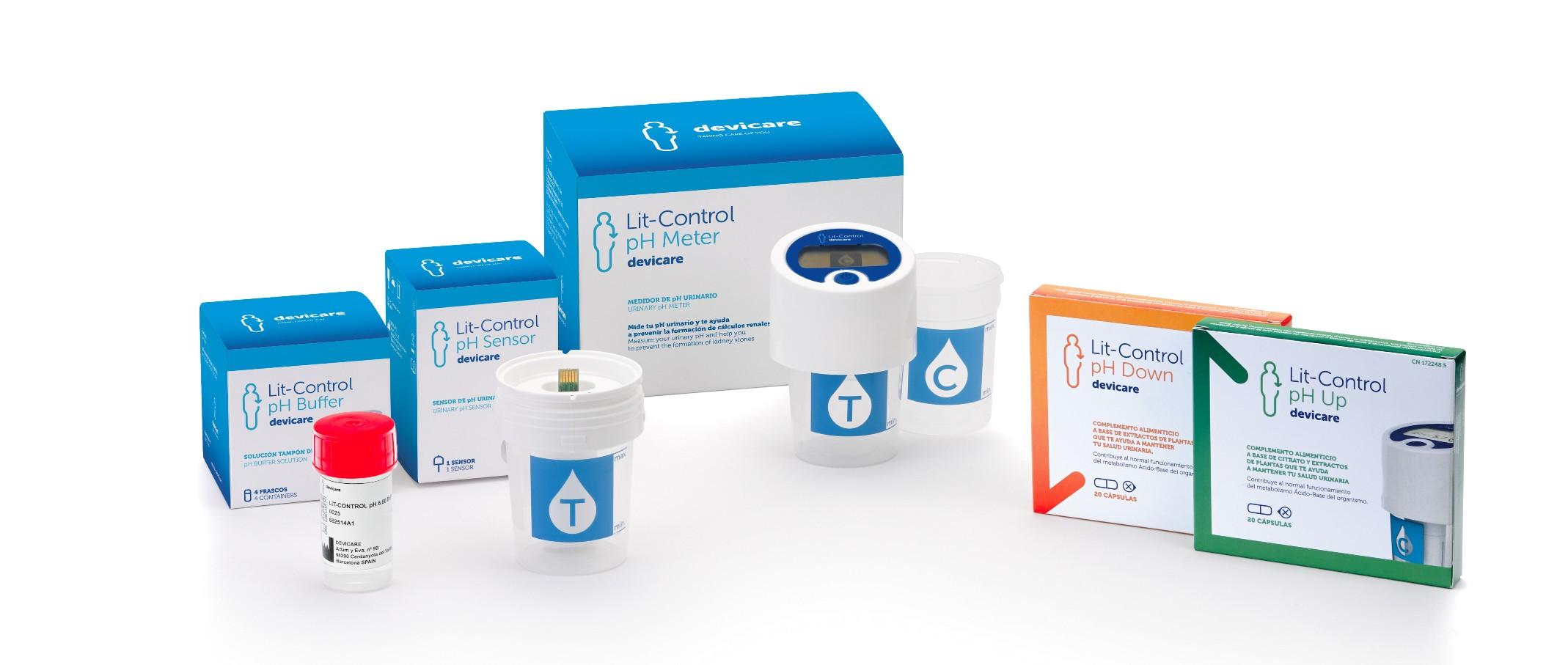 Nueva gama de productos Lit-Control pH