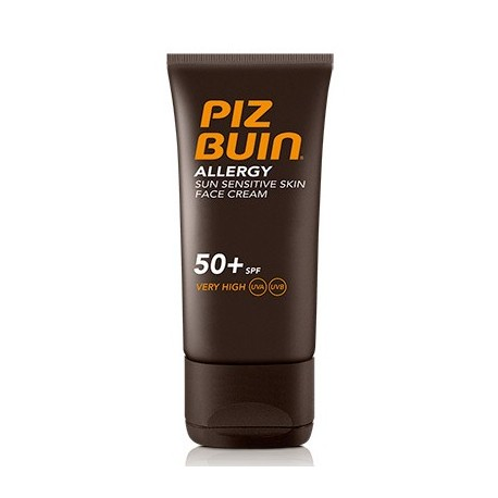 PIZ BUIN ALLERGY CREMA ROSTRO PIEL SENSIBLE SPF50+ 50 ML