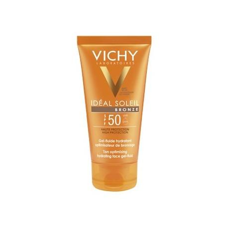 VICHY IDÉAL SOLEIL GEL-FLUIDO BRONZE SPF50+ 50 ML