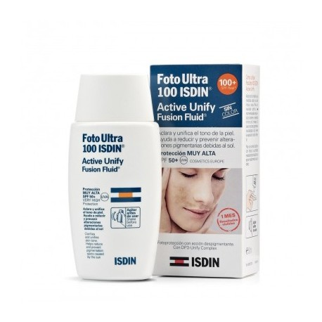 ISDIN FOTO ULTRA 100 ACTIVE UNIFY FUSION FLUID SPF100+ 50 ML