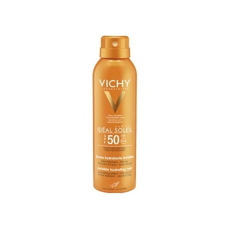 VICHY IDÉAL SOLEIL BRUMA INVISIBLE HIDRATANTE SPF50+ 200 ML