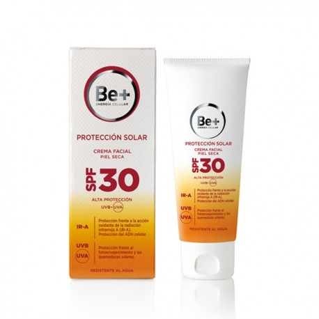 BE+ CREMA FACIAL PIEL SECA SPF30 50 ML