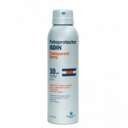 ISDIN FOTOPROTECTOR TRASPARENT SPRAY SPF30 200 ML
