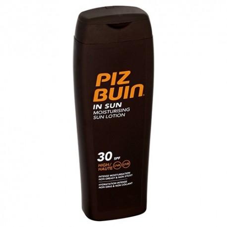 PIZ BUIN IN SUN LOCIÓN SOLAR HIDRATANTE SPF30 200 ML