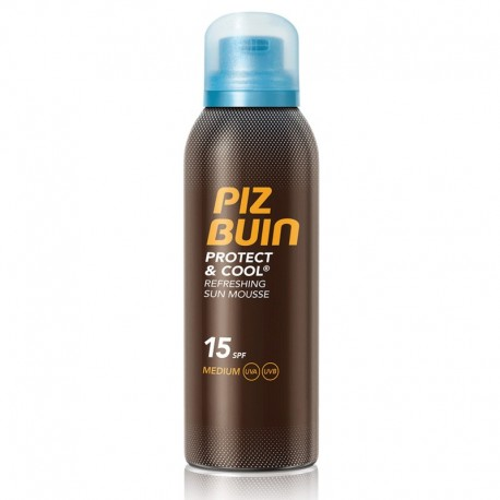 PIZ BUIN PROTECT&COOL MOUSSE SOLAR REFRESCANTE SPF15 150ML