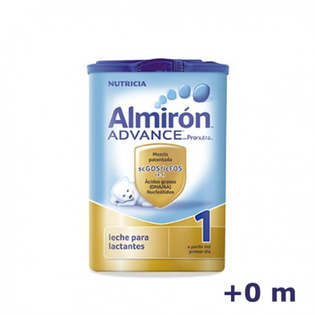 +0m ALMIRON LECHE 1 ADVANCED 800 G