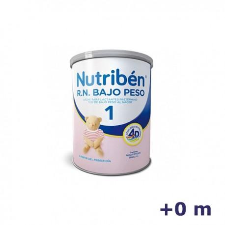 +0m NUTRIBEN LECHE RN BAJO PESO 400 G