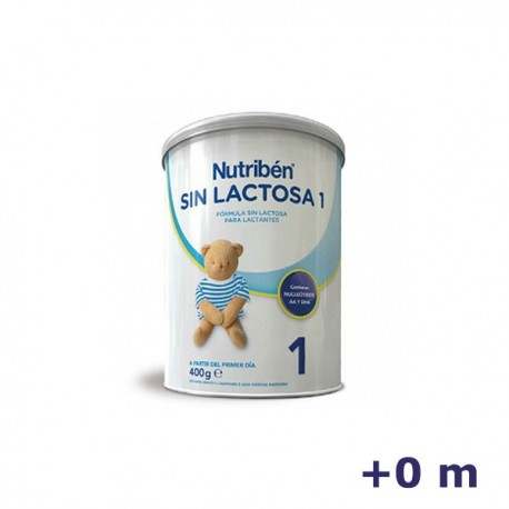 +0m NUTRIBEN LECHE SIN LACTOSA 1 400 G