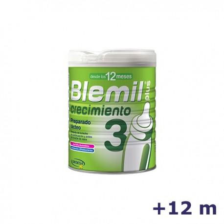 +12m BLEMIL LECHE PLUS 3 EFECTO BIFIDUS 800 G