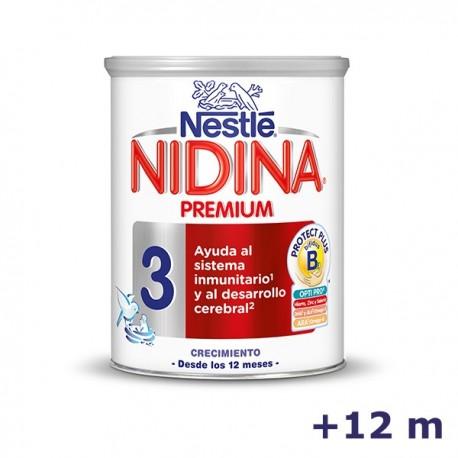 +12m NIDINA LECHE PREMIUM 3 800 G