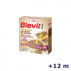 +12m BLEVIT PLUS TROCITOS CEREALES PEPITAS CHOCOLATE 600 G