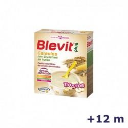 +12m BLEVIT PLUS TROCITOS CEREALES Y CRUNCHIES DE FRUTA 600 G