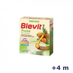 +4m BLEVIT PLUS SUPERFIBRA FRUTAS 600 G