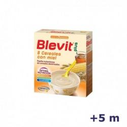 +5m BLEVIT PLUS 8 CEREALES MIEL 1000 G
