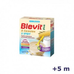 +5m BLEVIT PLUS DUPLO 8 CEREALES Y YOGUR 600 G