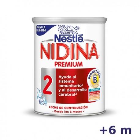 +6m NIDINA LECHE PREMIUM 2 800 G
