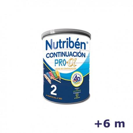 +6m NUTRIBEN LECHE CONTINUACION 400 G