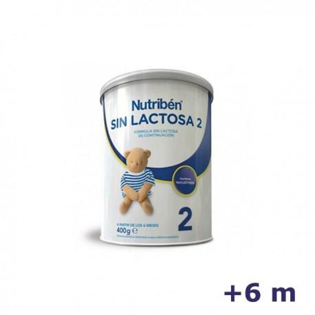 +6m NUTRIBEN LECHE SIN LACTOSA 2 400 G