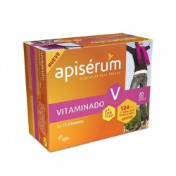 APISERUM VITAMINADO 500 MG 20 VIALES