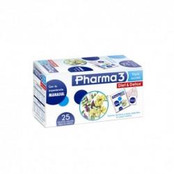 PHARMA 3 DIET DETOX INFUSION 25 FILTROS 1,5 G