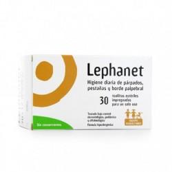 LEPHANET LIMPIADOR PARPADOS 30 TOALLITAS