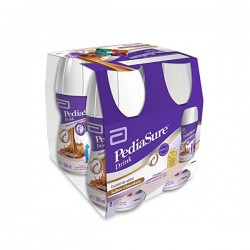 PEDIASURE DRINK CHOCOLATE 4 UNIDADES 200ML