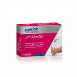 SANDOZ BIENESTAR EMBARAZO 30 CAPSULAS