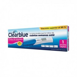 CLEARBLUE TEST DE EMBARAZO 1 UNI