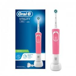 Oral B cepillo Recargable Vitality Cross Action Rosa
