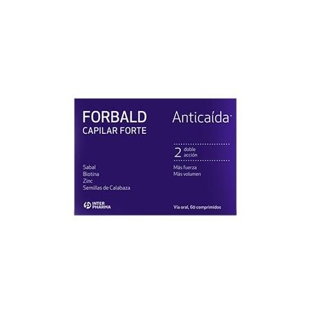 Forbald Capilar Forte Anticaida 60 cápsulas