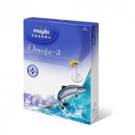 Omega 3 Máyla Pharma 30 cápsulas