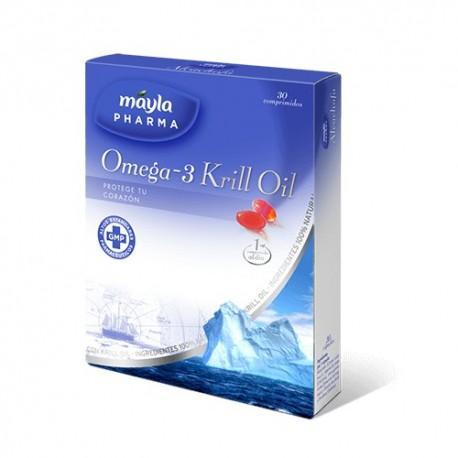 Omega 3 Krill Oil Máyla Pharma 30 cápsulas