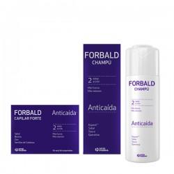 PACK Forbald Anticaída - Champú Anticaida + Cápilar Forte Anticaída 60 comprimidos