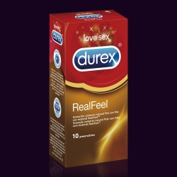 DUREX PRESERVATIVOS REAL FEEL SIN LATEX 12 UNIDADES
