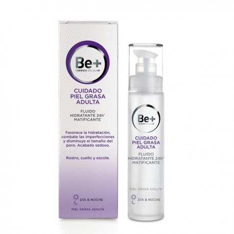 BE+ FLUIDO HIDRATANTE 24H MATIFICANTE 50 ML
