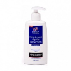NEUTROGENA CREMA DE MANOS RAPIDA ABSORCION 150 ML