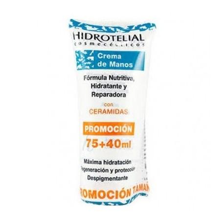 HIDROTELIAL CREMA DE MANOS 75 ML + 40 ML DE REGALO