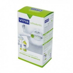 VITIS ORTHODONTIC PACK PASTA DENTAL 100 ML + COLUTORIO 500 ML