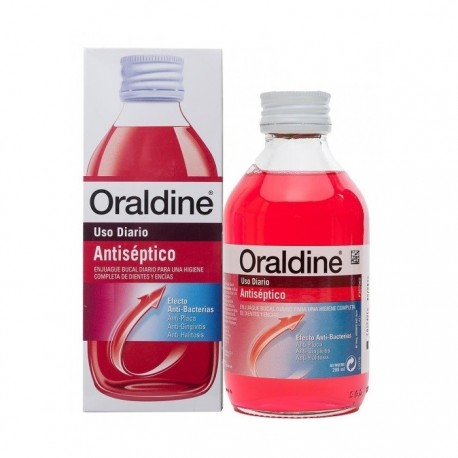 ORALDINE ANTISEPTICO 0.1% COLUTORIO 200 ML