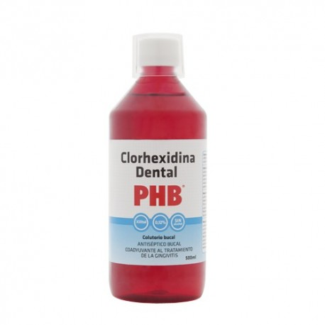 PHB COLUTORIO CLORHEXIDINA 0.12% 500 ML