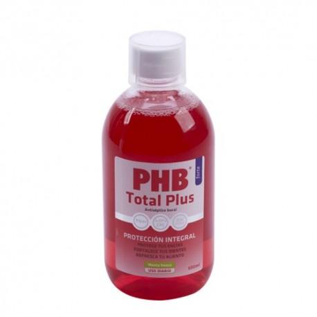 PHB ENJUAGUE BUCAL TOTAL PLUS COLUTORIO 500 ML