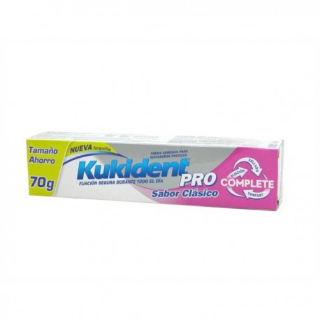 KUKIDENT COMPLETE PRO CLASICO T. AHORRO 70 GR