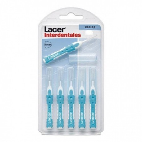 LACER CEPILLO INTERDENTAL RECTO CONICO BLISTER 6 UNI