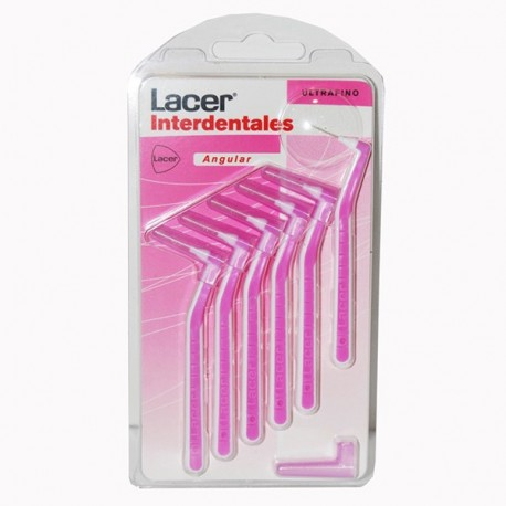 LACER CEPILLO INTERDENTAL ULTRAFINO ANGULAR 6 UNI