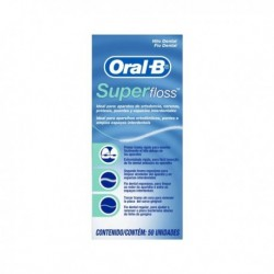 ORAL B SEDA DENTAL SUPERFLOSS 50 M
