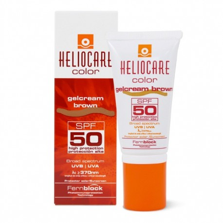 HELIOCARE COLOR GELCREAM SPF50 BROWN 50 ML